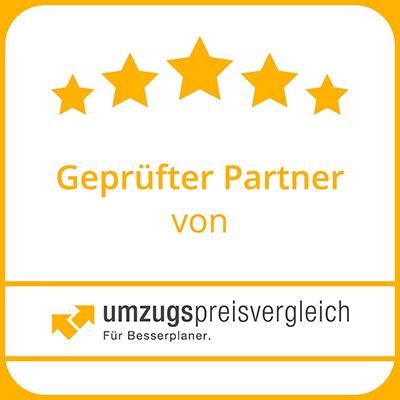 geprüfter Partner von umzugspreisvergleich.de